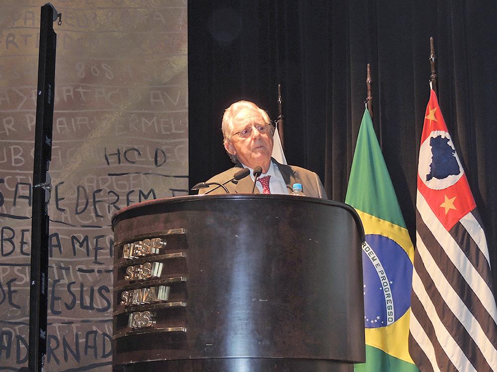 José Carlos de Oliveira Lima, Vice-Presidente da Fiesp e  Presidente do Conselho Superior da Indústria da Construção.