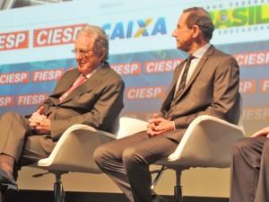 José Carlos de Oliveira Lima e Paulo Skaf.